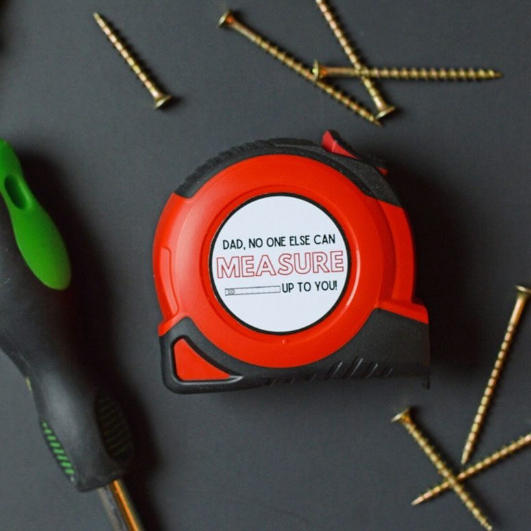 Fathers Day measuring tape