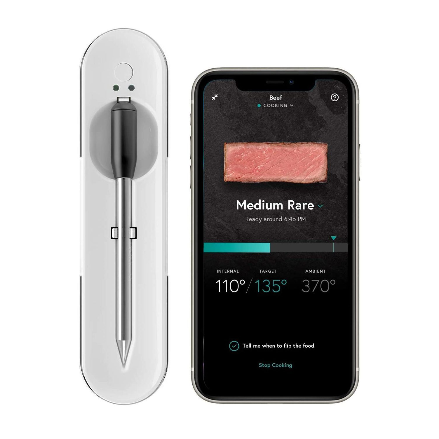 Yummly Premium Wireless Smart Meat Thermometer