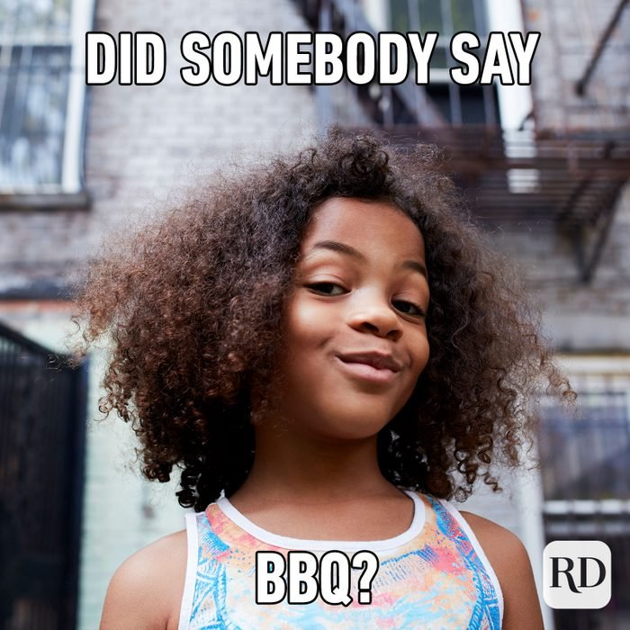 eme text: Did somebody say BBQ?