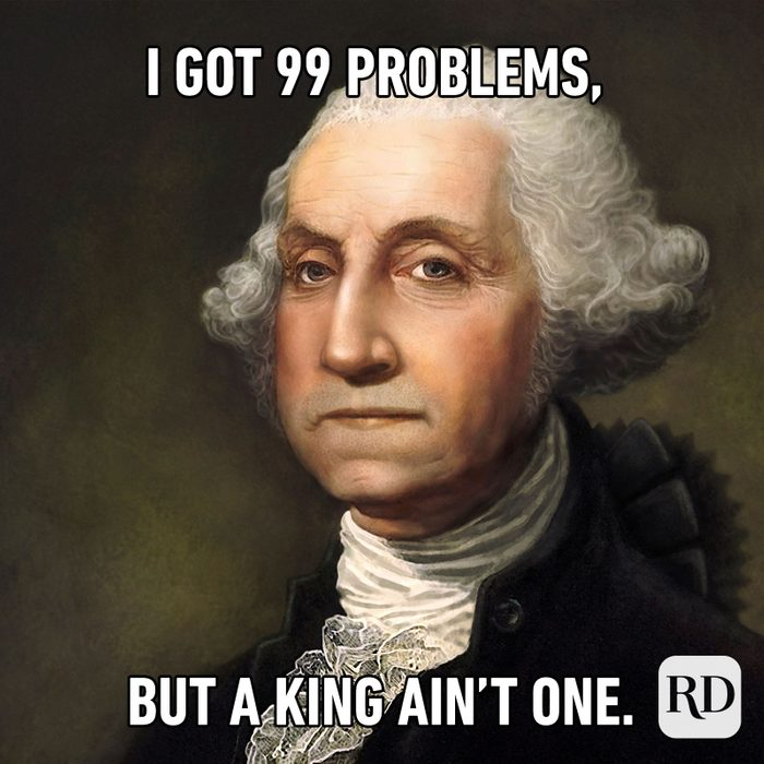 Meme text: I got 99 problems, but a king ain't one.