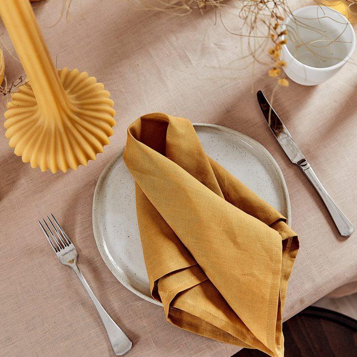 Bed Threads 100% Linen Napkins