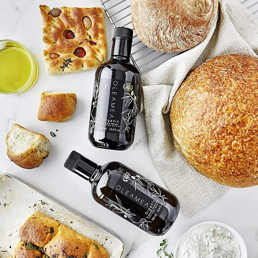 Oleamea Organic Extra Virgin Olive Oil Gift Pack for fathers day