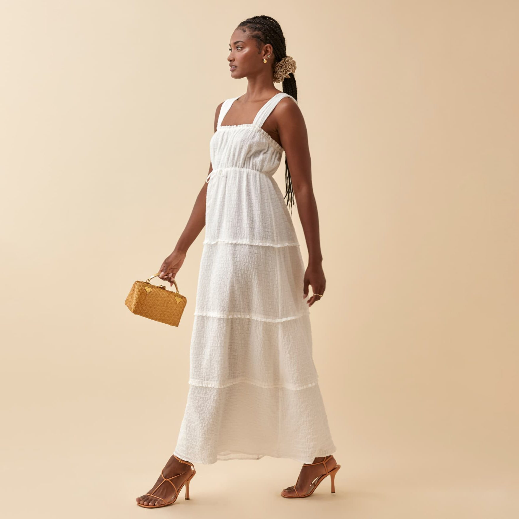the Ivie Dress from the reformation