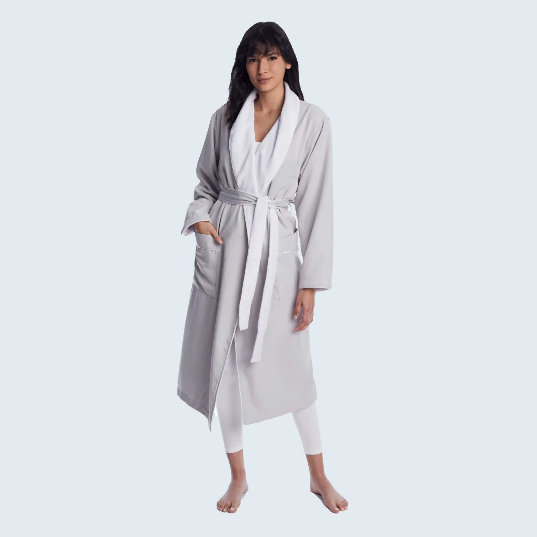 Arlotta Microfiber Plush-Lined Spa Robe from Bare Necessities