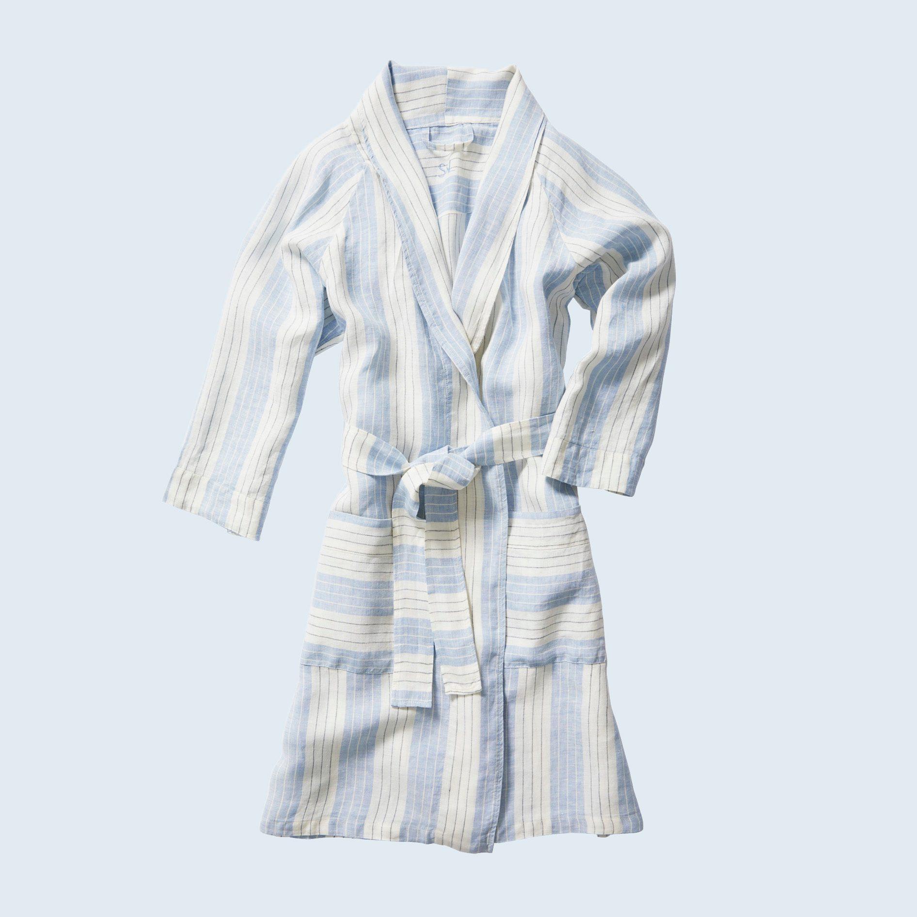 Porto Linen Robe from Serena & Lily