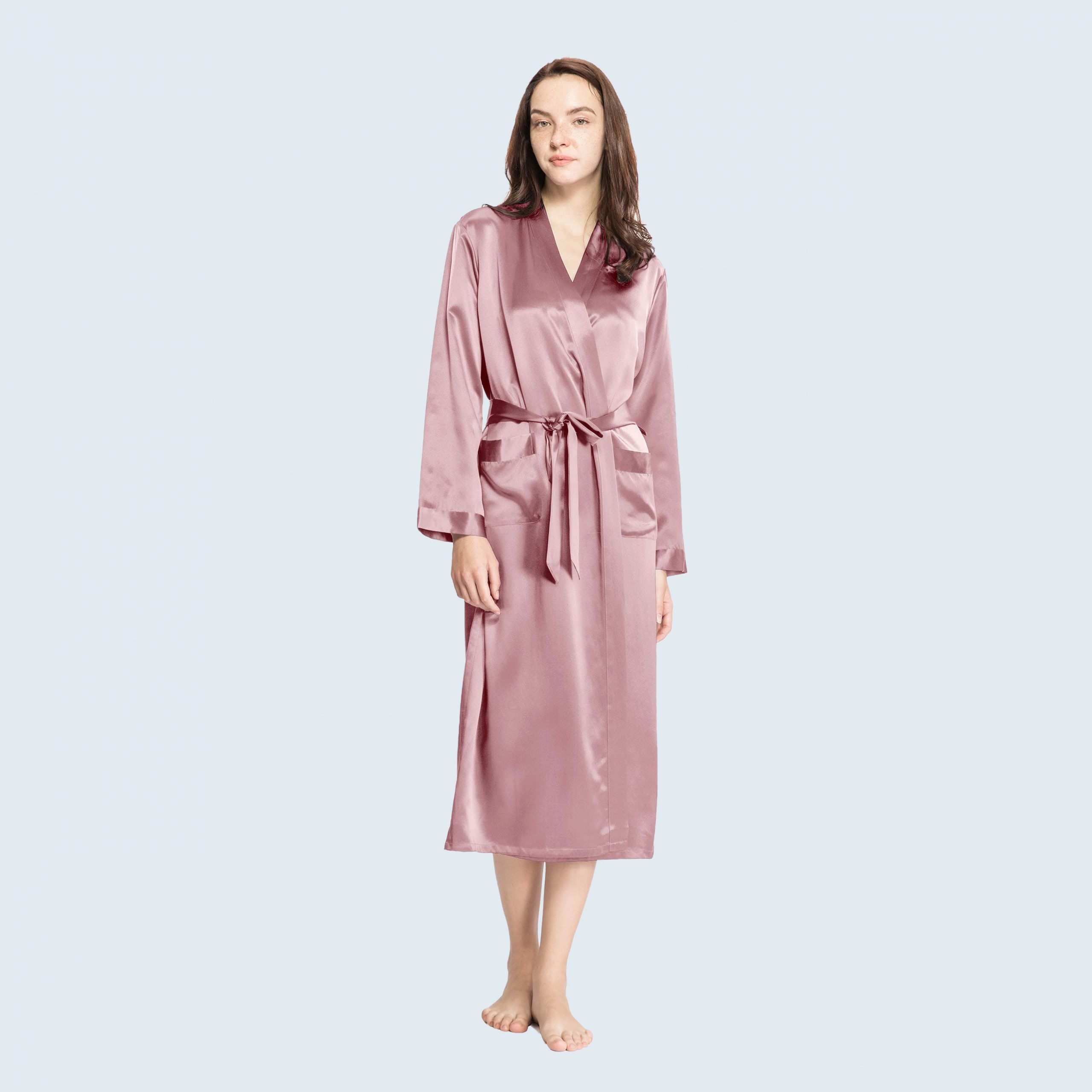 22 Momme Classic Full Length Silk Road from LILYSILK