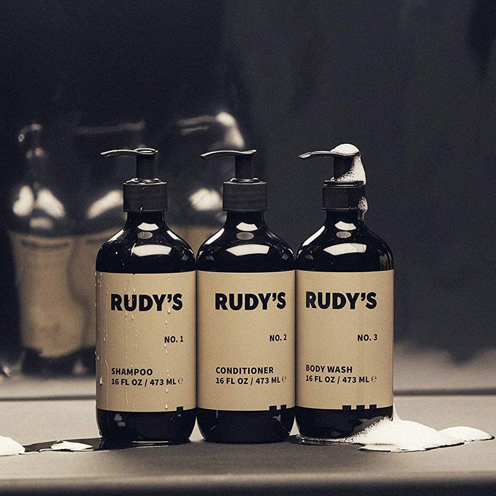 Rudy's Shower Essentials Bundle