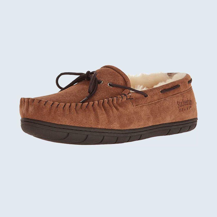 Staheekum Plush Shearling Lined Slippers