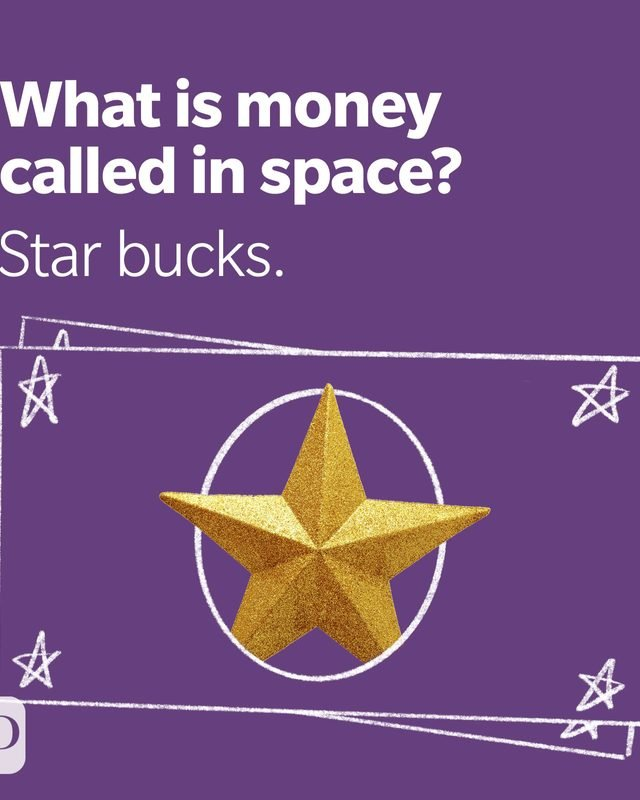 Space Puns Star Bucks
