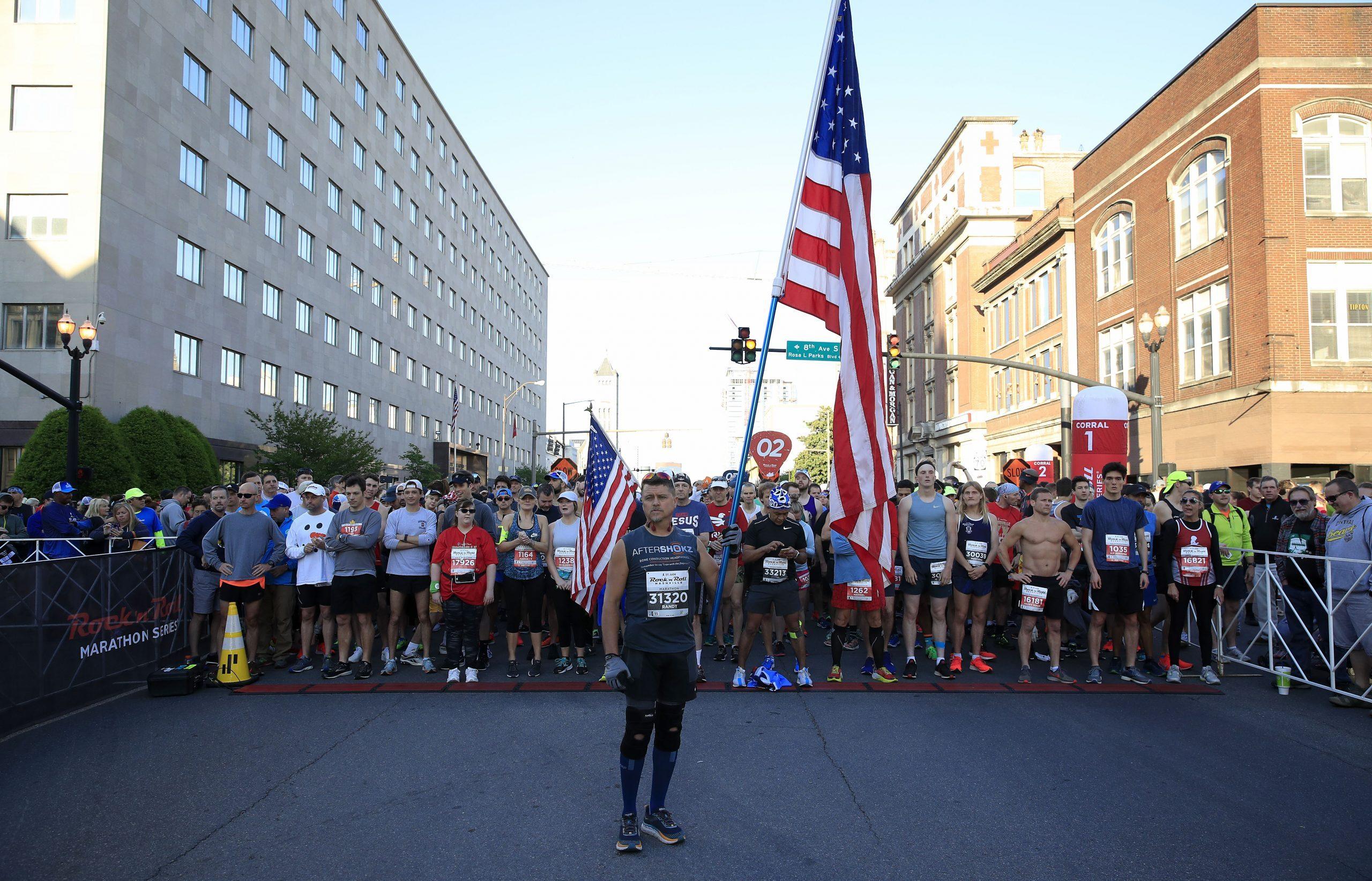 St. Jude Rock 'n' Roll Nashville Marathon, 1/2 Marathon & 5K