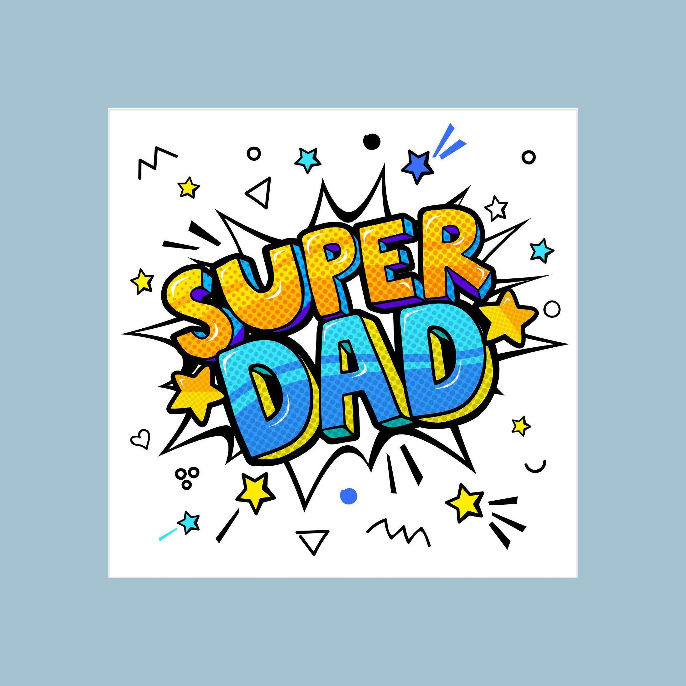 Super Dad Fathers Day Card