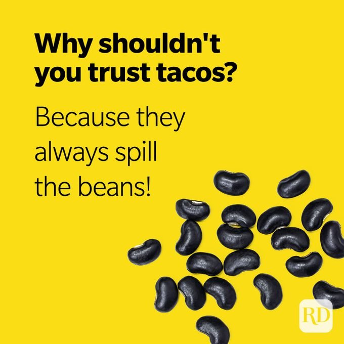 Taco Puns Spill The Beans