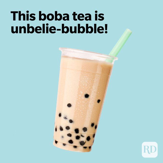Tea Puns Unbelie-Bubble