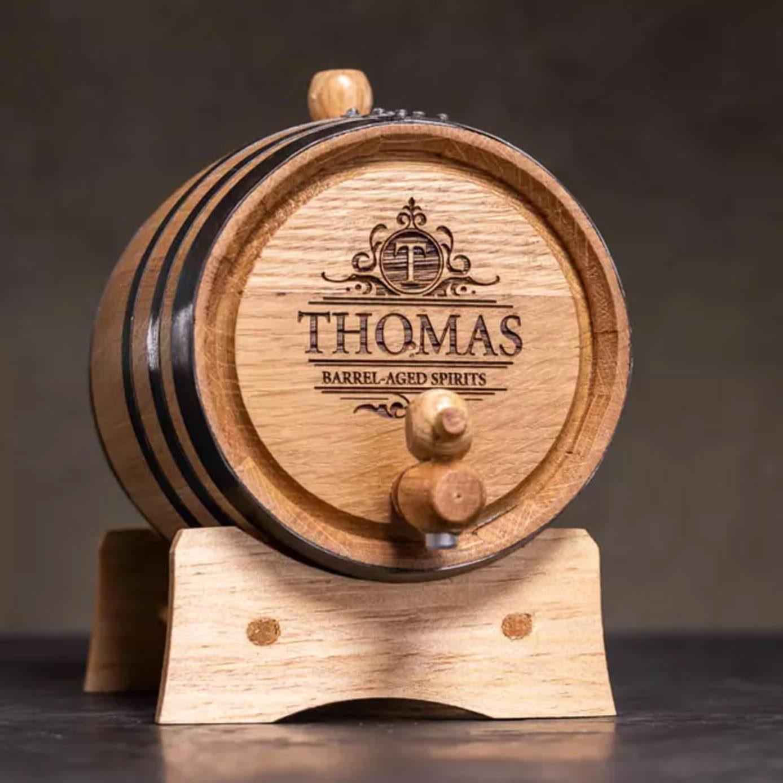 Man Crates Personalized Whiskey Making Kit