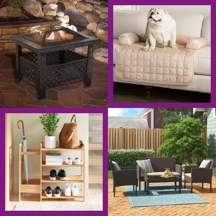 collage of Wayfair Way Day sale items