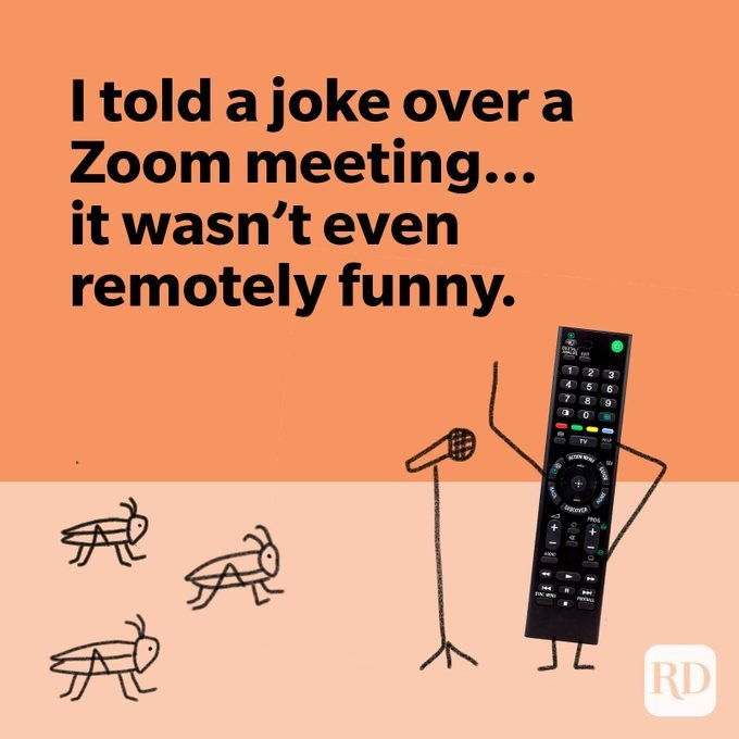 Remote control bombing a stand-up comedy set
