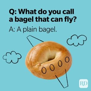 What Do You Call Jokes Plain Bagel