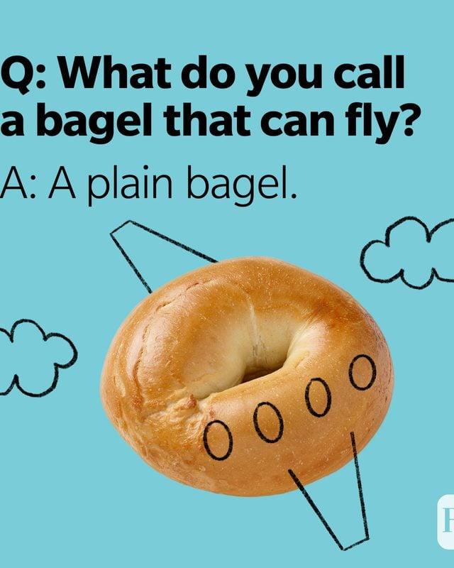 What Do You Call Jokes Plain Bagel