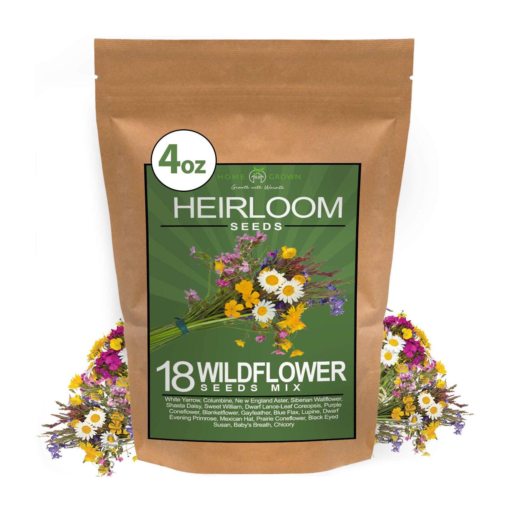 Home Grown Wildflower Seeds