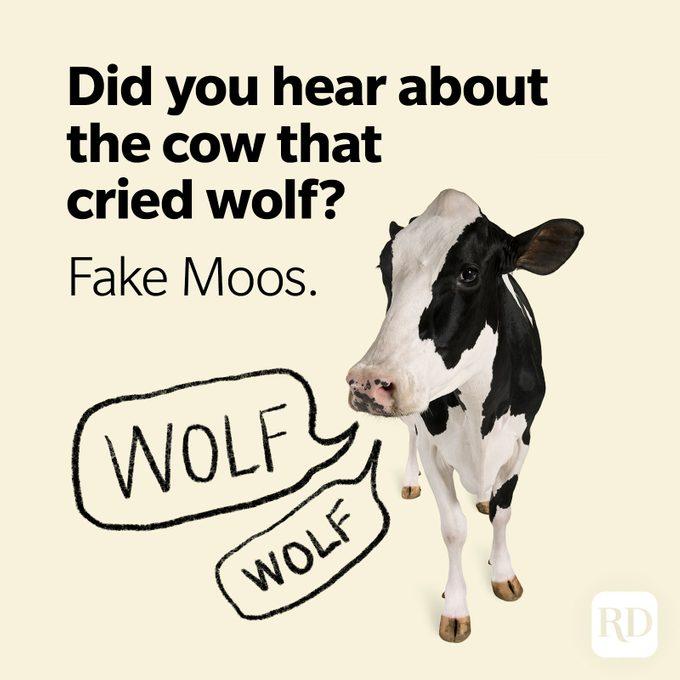 Wolf Puns Fake Moos