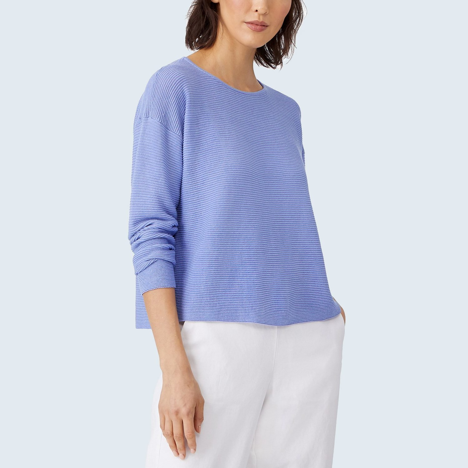 Organic Ribbed Sweater from Eileen Fisher