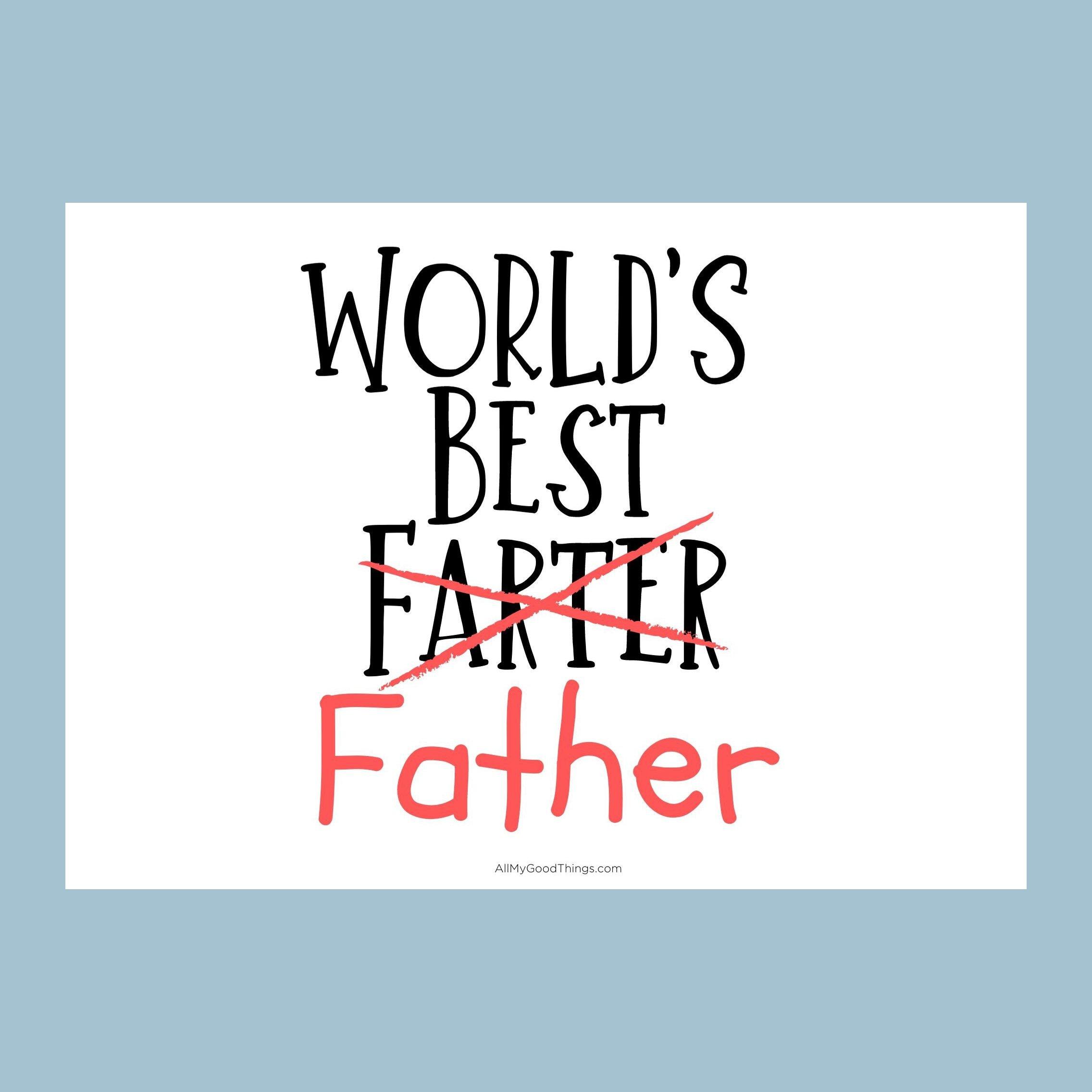 worlds best farter
