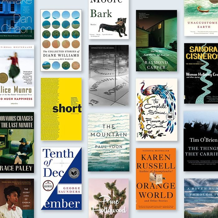 Grid of Best Short Stories Book Covers