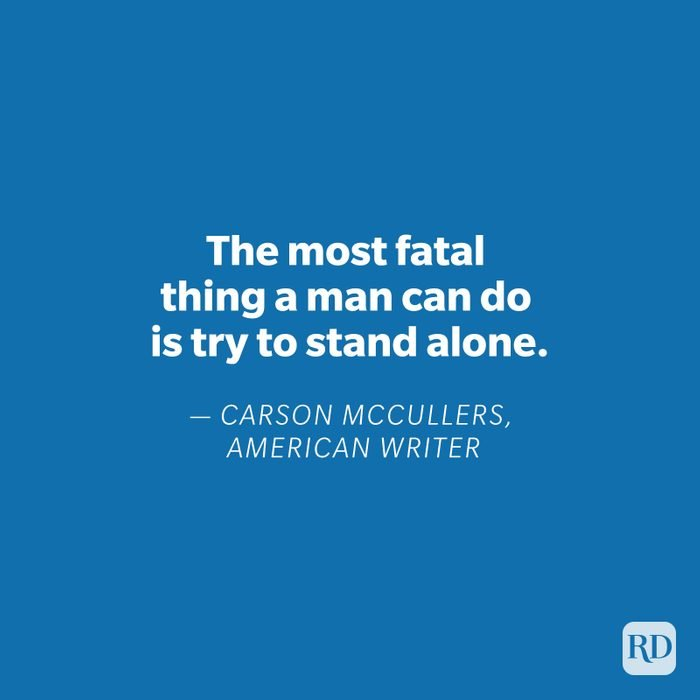 Carson McCullers quote on blue