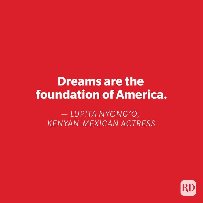 Lupita Nyong'o quote on red