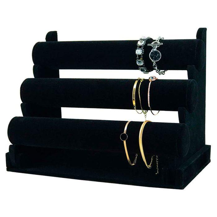 7th Velvet 3 Tiers Bracelet Holder