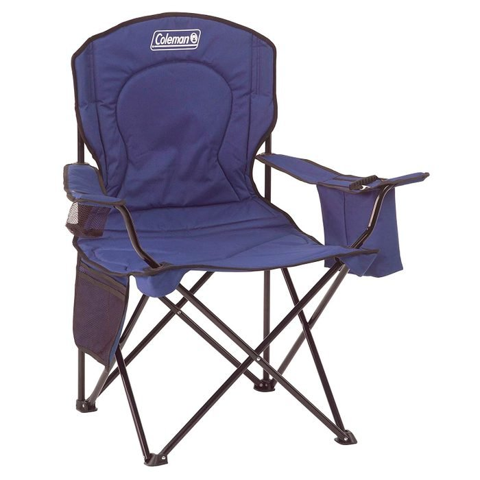 Coleman Camping Chair With Built In 4 Can Cooler