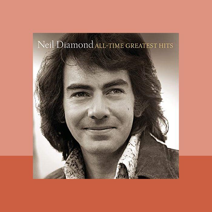 """America"" by Neil Diamond album cover art"