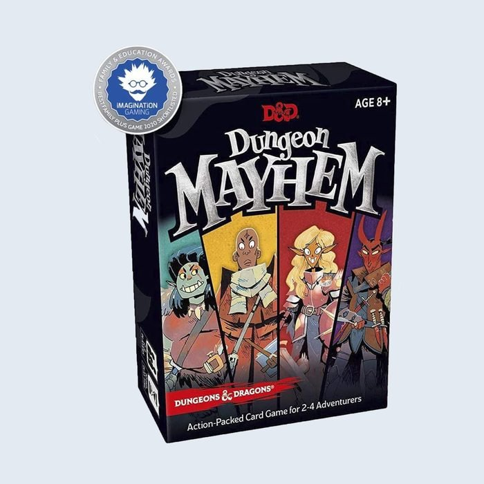 Dungeon Mayhem card game cover