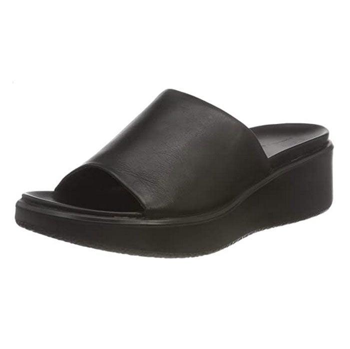 Ecco Women's Flowt Luxery Wedge Slide Sandal