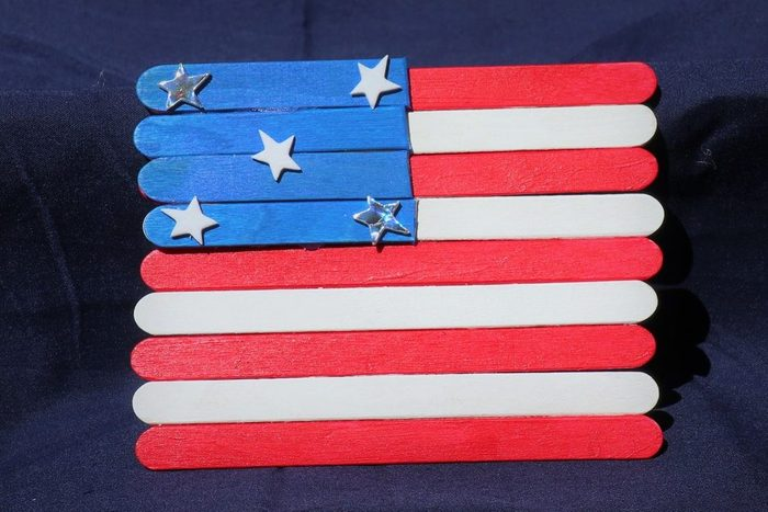 Fourth Of July Magnetic Flag Craft Kit