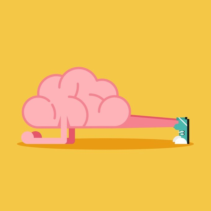Brain Training With Planking