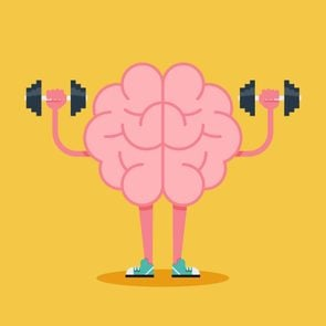 Brain Training With Dumbbell Weights