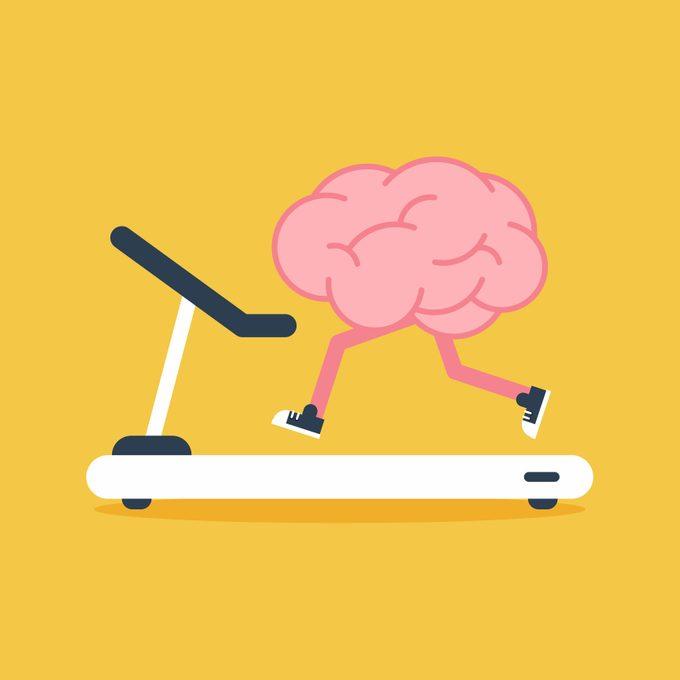 Brain Training With Treadmill Running