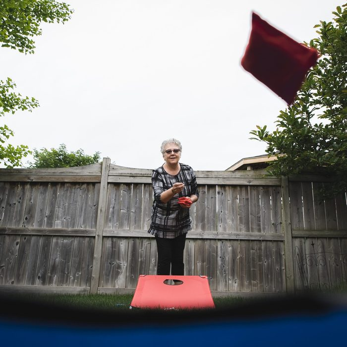 cornhole and other family games for fourth of july