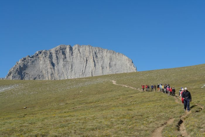 Climbing Mountain olympus