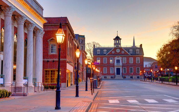 Downtown Newport, Rhode Island