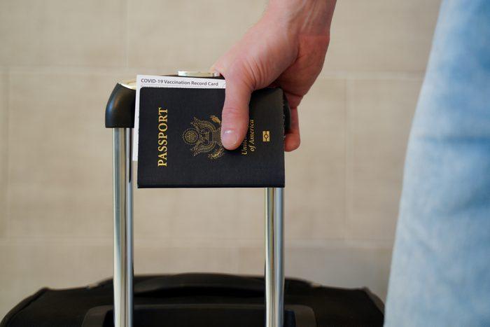 Traveling with coronavius vaccine ID