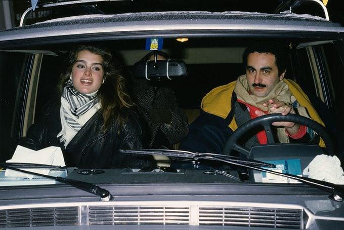 Brooke Shields and Dodi Al Fayed