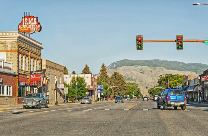 Cody Wyoming City street View