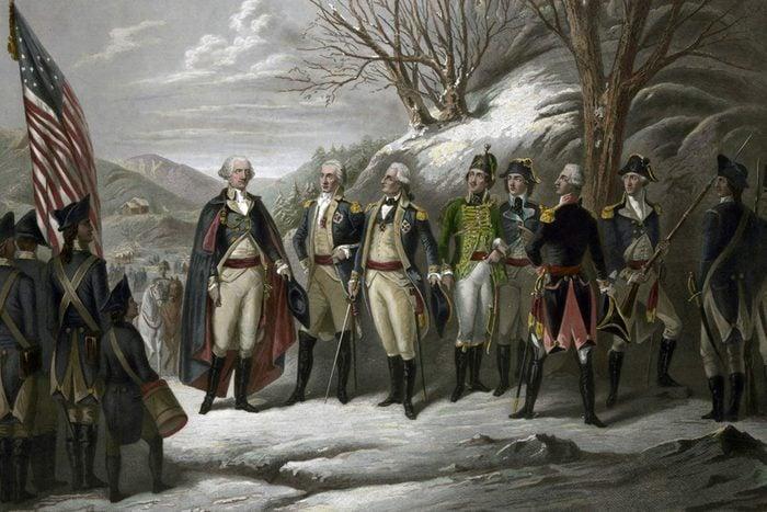 Revolutionary War 1775-1783.