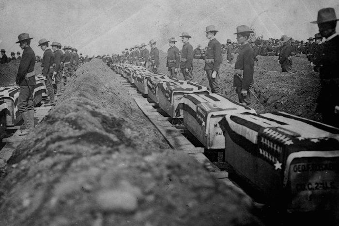 Spanish-American War Funeral Service