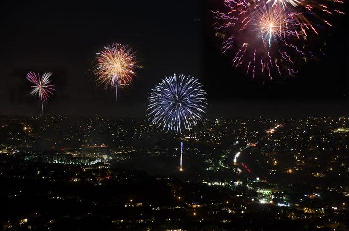 Orange County Fireworks in Dana Point