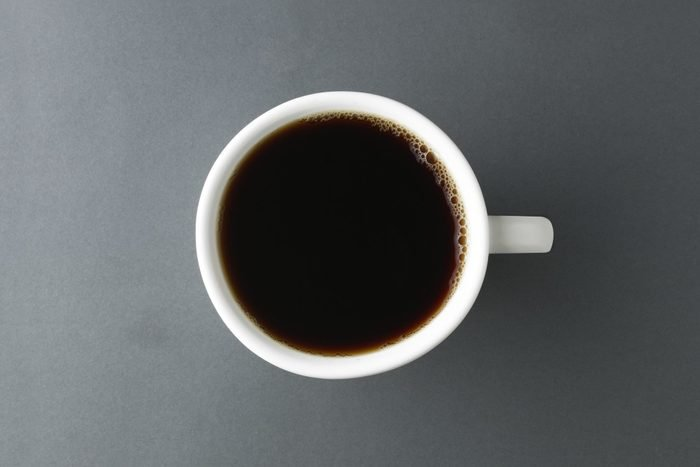 Coffee that stains teeth