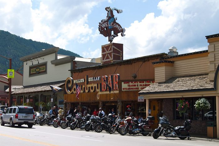 Million Dollar Cowboy Bar in Jackson Hole