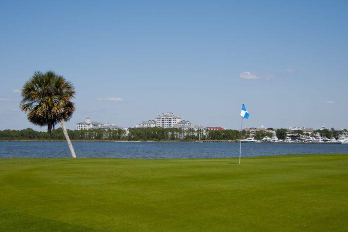 Golf in Sandestin, Florida.